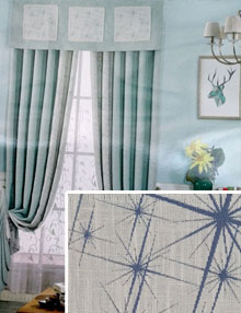 Linen Polyester Drapes And Curtains Capable Of Purifying Air
